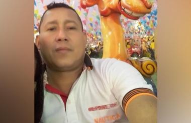 Wilson Ascanio Contreras, fallecido.