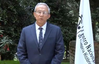 Rubén Darío Acevedo, director del CNMH.
