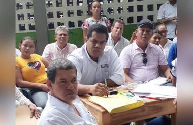 Miembros de la Asociación de Educadores de Córdoba.
