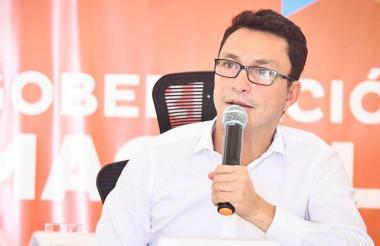 Carlos Caicedo Omar, gobernador del Magdalena.