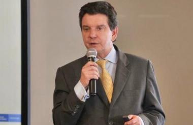 El declarado insubsistente exdirector de la ANH, Luis Miguel Morelli.