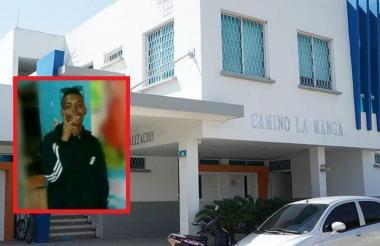 El joven murió cuando recibía atención médica en el Camino La Manga.