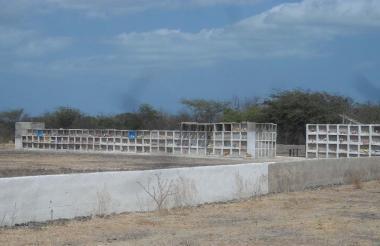 Vista del cementerio 'Gente como Uno', en Riohacha.