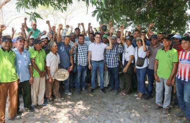 El gobernador del Magdalena, Carlos Caicedo, indicó que este será un proyecto piloto, emblemático y demostrativo, de agricultura sostenible.