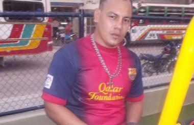 Deiner de Jesús Mendoza Jaraba, víctima fatal.