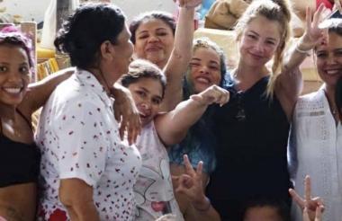 Johana Bahamón dirige la Fundación Acción Interna en la que trabaja con personas privadas de la libertad.