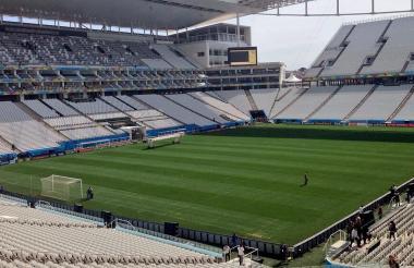 El Corinthias puso a disposición su estadio mundialista el Itaquerao.