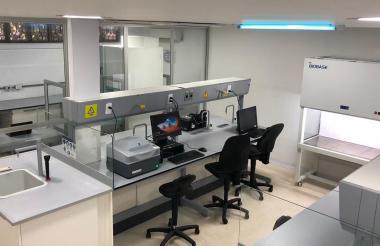 Laboratorio de biología molecular de la Universidad del Atlántico.