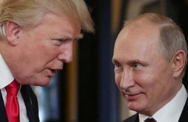 Trump y Putin.