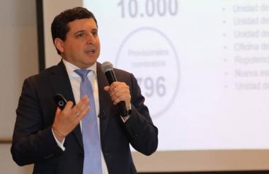 José Andrés Romero, director de la DIAN.