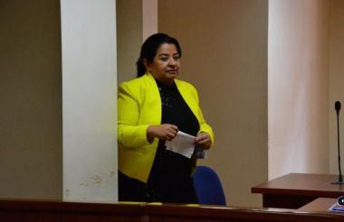 Martha Lucía Pinilla Díaz, exdetective del CTI de la Fiscalía, condenada.