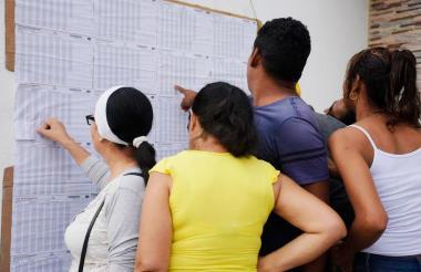 Resultado de imagen para VOTACIONES EN EL ATLANTICO