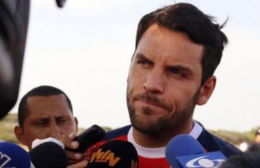 Sebastián Viera, el arquero y capitán del Junior de Barranquilla.