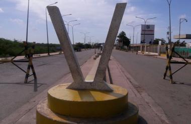 Lado fronterizo de Venezuela.
