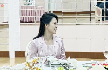 Ri Sol Ju, primera dama de Corea del Norte.