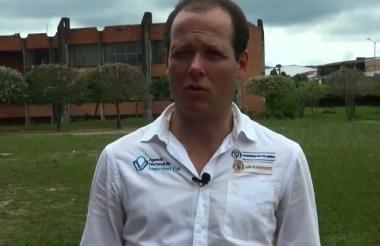 Alejandro Maya, director de la Agencia Nacional de Seguridad Vial.