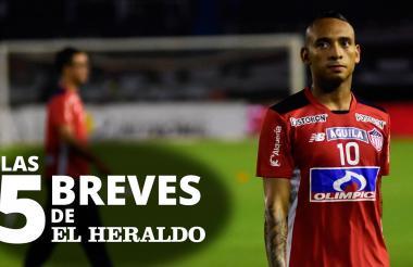 Jarlan Barrera, volante ofensivo de Junior.