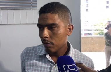 Brayam Rivera, capturado y enviado a prisión.
