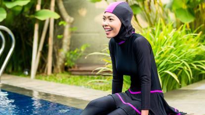 Resultado de imagen para trajes de baño paises musulman