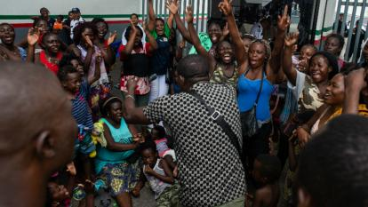 Resultado de imagen de migrantes, entre ellos africanos