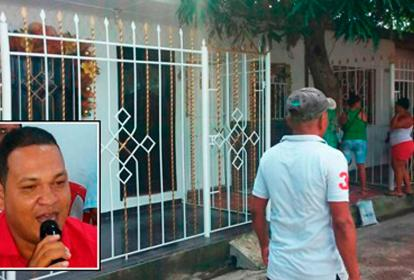 En esta casa de la calle 13A No. 24-62 vivía el concejal Samir López Visbal.