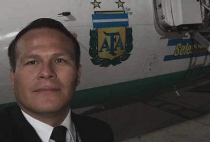 Miguel Quiroga, piloto del avión de LaMia.