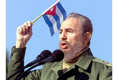 El líder de la Revolución cubana, Fidel Castro.