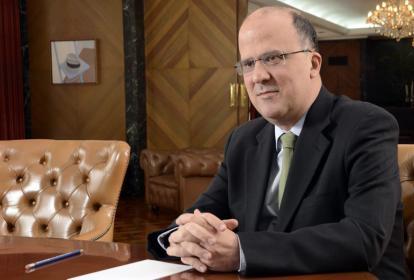 José Darío Uribe, gerente general del Banco de República.