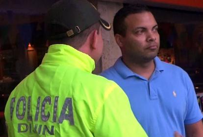 Francisco Javier Yancen Santana, capturado por la Dijín en el barrio Porvenir.