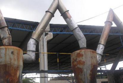 En la vereda La Bonga fueron intervenidas algunas fundidoras de plomo por la Alcaldía de Malambo en 2014.