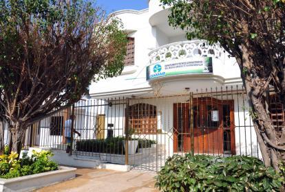 Fachada donde funciona la sede administrativa del Damab.