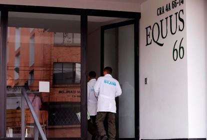 Edificio donde vivía Rafael Uribe, presunto violador de Yuliana Samboní.