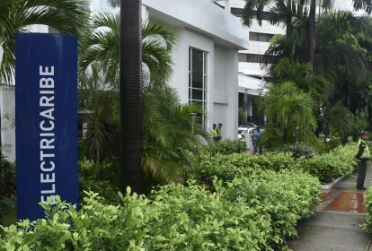 Oficinas de la empresa Electricaribe ubicadas en el norte de Barranquila.