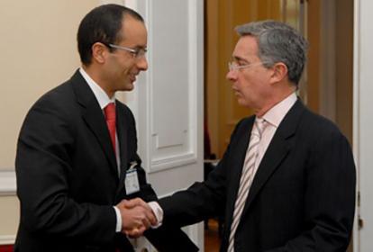 Reunión Marcelo Odebrecht y Álvaro Uribe