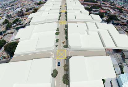 Imagen digital de lo que será la canalización del arroyo Hospital.