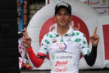 Nelson Soto, ganador de las metas volantes.
