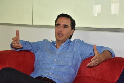 Alfonso Gómez Palacio, presidente CEO de Telefónica.