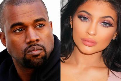 Kanye West y Kylie Jenner.