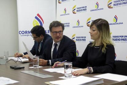 Director (e) de Cormagdalena, Luis Fernando Andrade, preside audiencia de imposición de multa a Navelena.