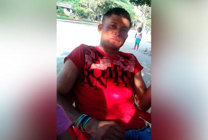 Jhaiser Enrique Yaya Urueta, fallecido.