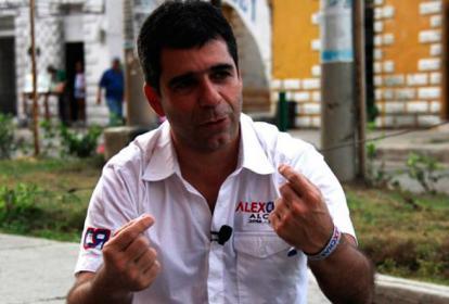 El alcalde de Barranquilla Alejandro Char.