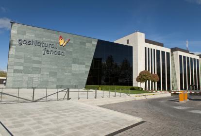 Sede de la compañía Gas Natural Fenosa en Madrid, España.