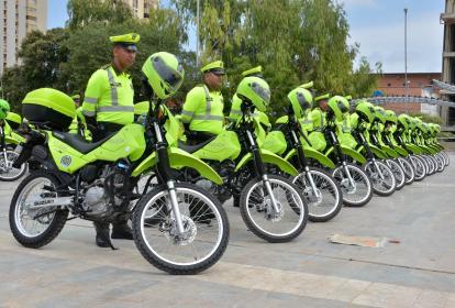 Con estas motocicletas se incrementa el parque automotor de la Policía a 380.