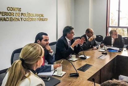 Reunión de Gobernadores con los Ministros.