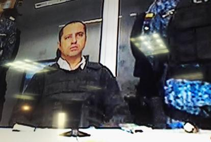 Rafael Uribe Noguera, hoy en prisión en La Picota de Bogotá.