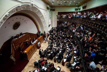 Vista de la Asamblea Nacional de Venezuela.