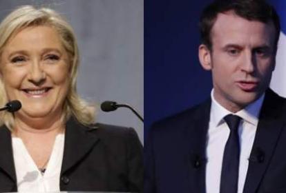 Marine Le Pen, de la ultraderecha, desea ser la primera presidenta de Francia y Emmanuel Macron, a sus 39 años  quiere ser el presidente más joven de Francia.