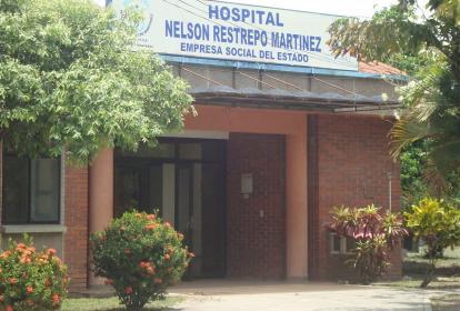 Fachada del Hospital Nelson Restrepo de Guayabal, Tolima.