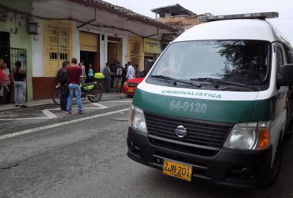Sitio donde fue cometido el asesinato de Edith Jhoana Parra León por su pareja.