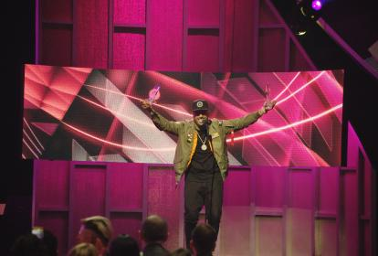 Nicky Jam, uno de los más galardonados durante los premios de la música Latina Billboard.